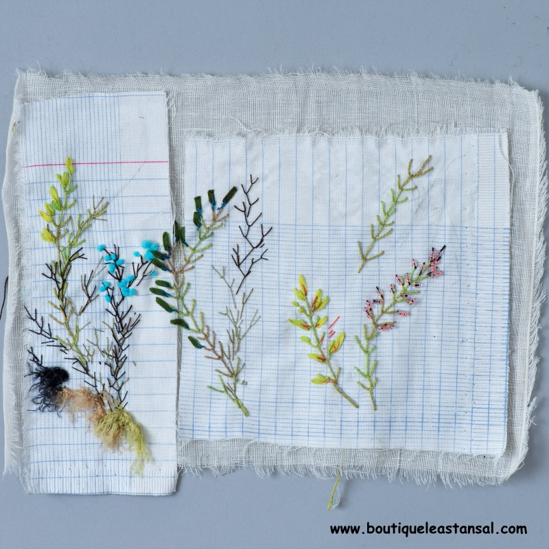 broderie d'embellissement page exercices